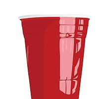 Red Cup Art Beer Pong by DesireeNguyen