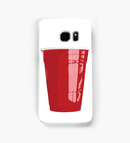 Red Cup Art Beer Pong Samsung Galaxy Case/Skin
