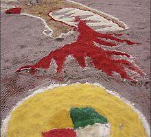 Sand Mandala by OZDOOF