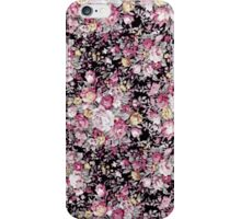 Elegant Pretty Vintage Floral Pattern iPhone Case/Skin