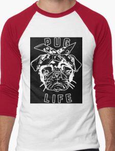 Thug Life Pug Life Men's Baseball ¾ T-Shirt