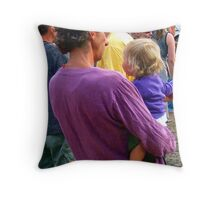 all ages event,, Throw Pillow