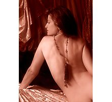 Bare-back & Tassle Photographic Print