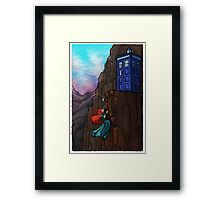 Touch the Sky....then the Stars. Framed Print