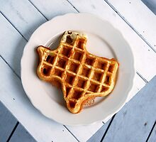 Texas Waffle by Catherine Sherman