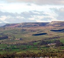 Castle Bolton & Wensleydale by kalwhite