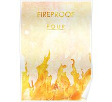 """""""Fireproof"""" One Direction Poster"""
