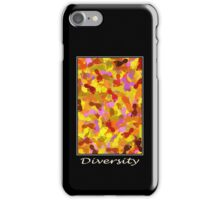 Inspiring Diversity Poster Art iPhone Case/Skin