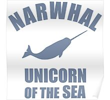 Narwhal - Unicorn Of The Sea Poster