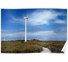 10 Mile Beach Wind Farm Poster
