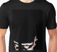 Portrait of scary man Hasselblad medium format gelatin photo Unisex T-Shirt