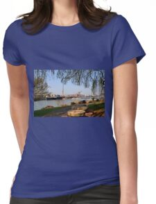 Around Exeter Quays , Exeter, Devon UK Womens Fitted T-Shirt