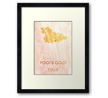 """""""Fool's Gold"""" One Direction Framed Print"""