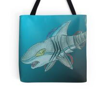 Great White Machine Tote Bag