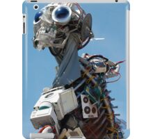 WEEE MAN Recycled Waste Electrical and Electronic Equipment Robot iPad Case/Skin