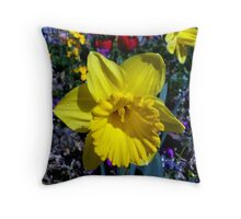 My favorite daffodil Throw Pillow