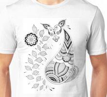 Paisley Cat Unisex T-Shirt