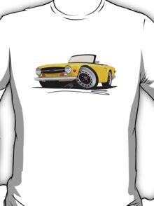 Triumph TR6 Yellow T-Shirt