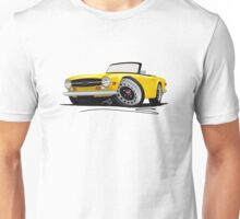 Triumph TR6 Yellow Unisex T-Shirt