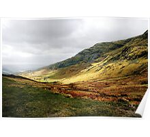 view from kirkstone pass Poster