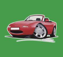 Mazda MX5 / Miata (Mk1) Red Kids Clothes