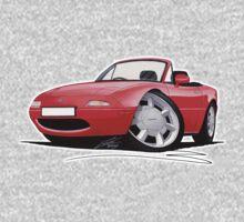 Mazda MX5 / Miata (Mk1) Red Kids Tee