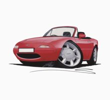 Mazda MX5 / Miata (Mk1) Red Kids Clothes