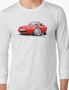 Mazda MX5 / Miata (Mk1) Red Long Sleeve T-Shirt