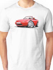 Mazda MX5 / Miata (Mk1) Red T-Shirt