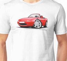Mazda MX5 / Miata (Mk1) Red Unisex T-Shirt