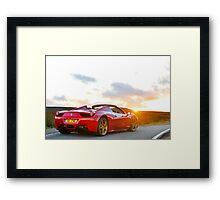 Ferrari 458 Spyder Framed Print