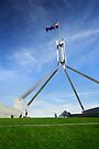 Parliament House - Canberra by Darren Stones