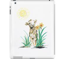 Joyful baby Lamb iPad Case/Skin
