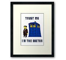 Doctor Nick I Framed Print