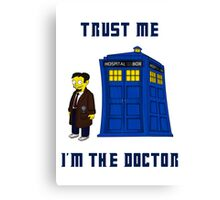 Doctor Nick I Canvas Print