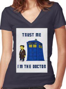 Doctor Nick I Women's Fitted V-Neck T-Shirt