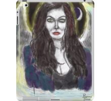 my succubus walks the night by richard g tanzer iPad Case/Skin