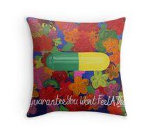 prozac the family capsule Throw Pillow