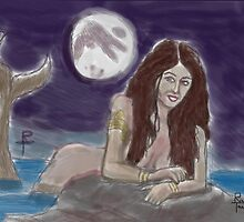 mermaid's night 2 by richard tanzer