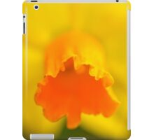 Yellow Spring Narcissus Daffodil Flower Close-up iPad Case/Skin