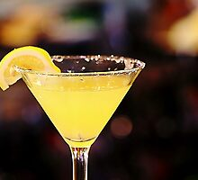 Lemon Drop Martini by Darlene Lankford Honeycutt