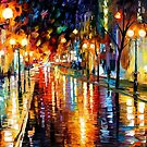 Night Perspective — Buy Now Link - www.etsy.com/listing/129012510 by Leonid  Afremov