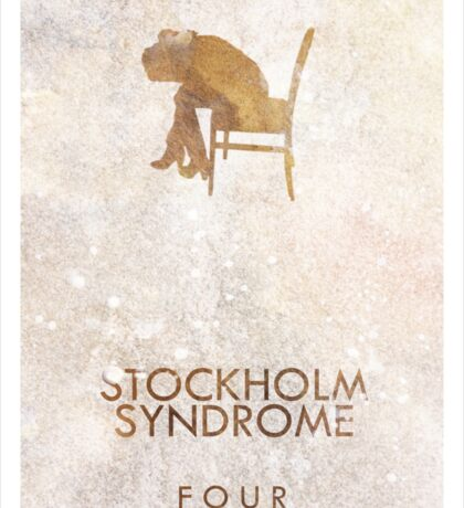 """""""Stockholm Syndrome"""" One Direction Sticker"""