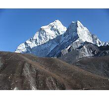 North West View of Ama Dablam, Everest Region, Nepal Photographic Print