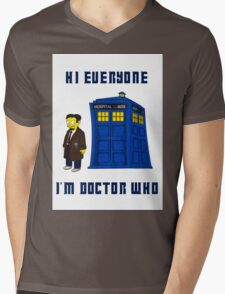 Doctor Nick III Mens V-Neck T-Shirt