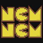 NOM NOM by justinglen75