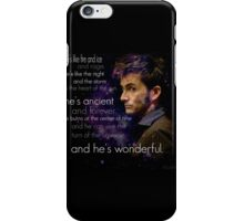 Doctor Who- Tenth Doctor Devid Tennant  iPhone Case/Skin