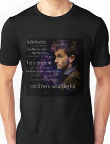 Doctor Who- Tenth Doctor Devid Tennant  Unisex T-Shirt