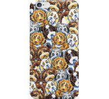 Cockapoo Pack iPhone Case/Skin