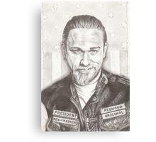 Jax Teller Canvas Print